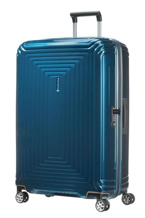 Samsonite Neopulse Spinner 75 cm Metalic Blue koffer