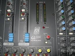 Allen & Heath GL2200 mengpaneel