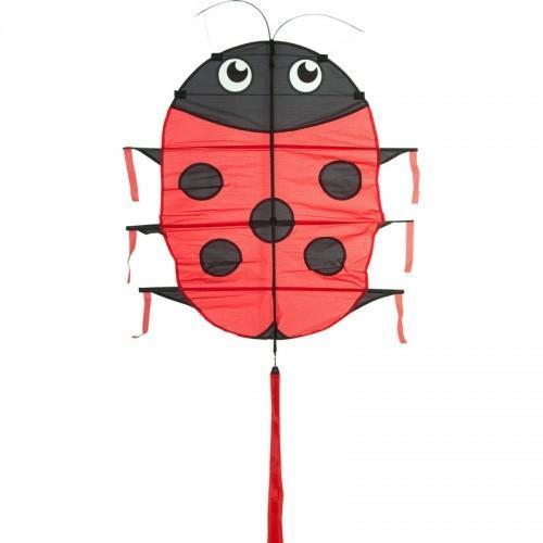 NIEUW* HQ Flapping Lillie Ladybug Vlieger