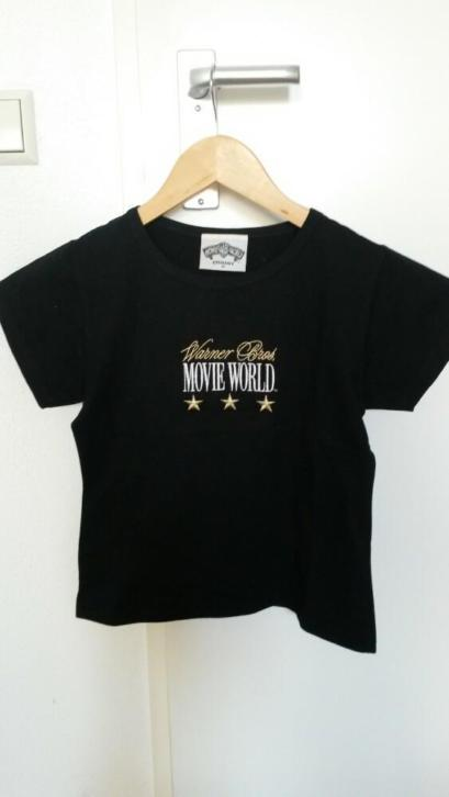 Warner Bros. Movie World shirt (maat m, valt als een s)