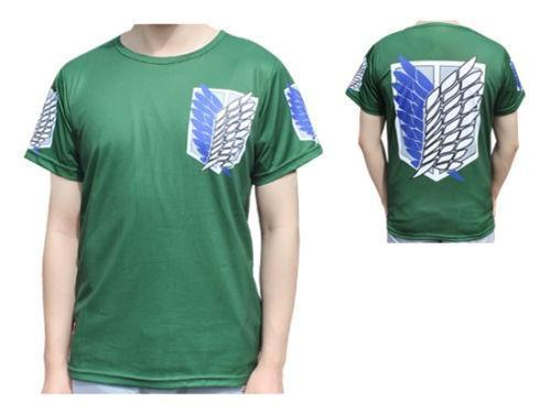Attack On Titan Logo T-Shirt (Shirt Cosplay Kostuum Anime)