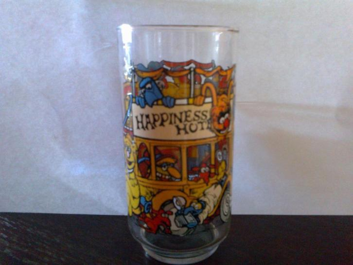 Vintage Happiness Hotel The Muppets glas McDonalds 1981