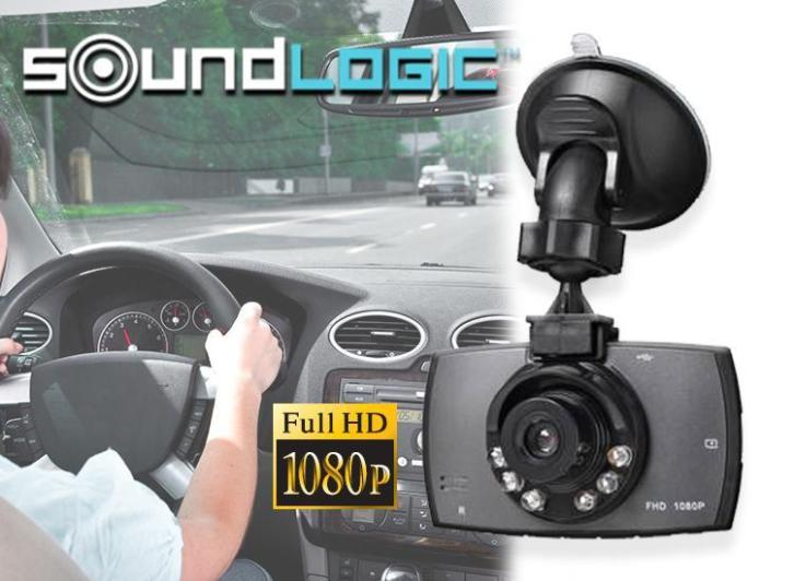 €24,95 ipv €69,95 - Soundlogic Full HD Dashcam
