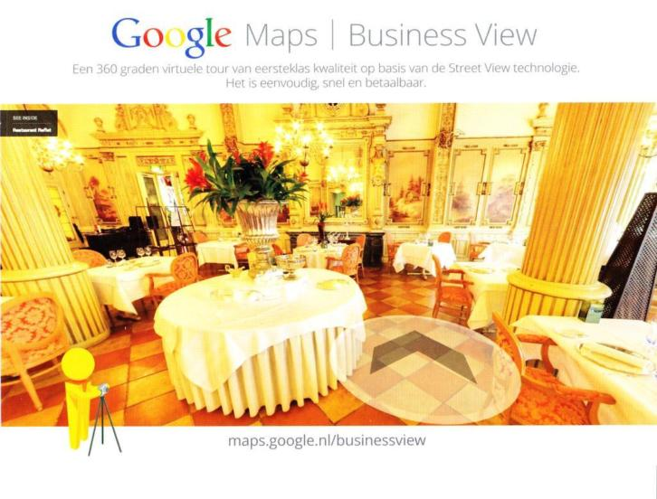 Google Maps Business View, Virtuele Tour, StreetView Trusted