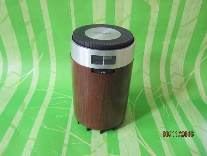 Zeldzame Sony TR.1829 Transistor Radio Made in Japan 1968