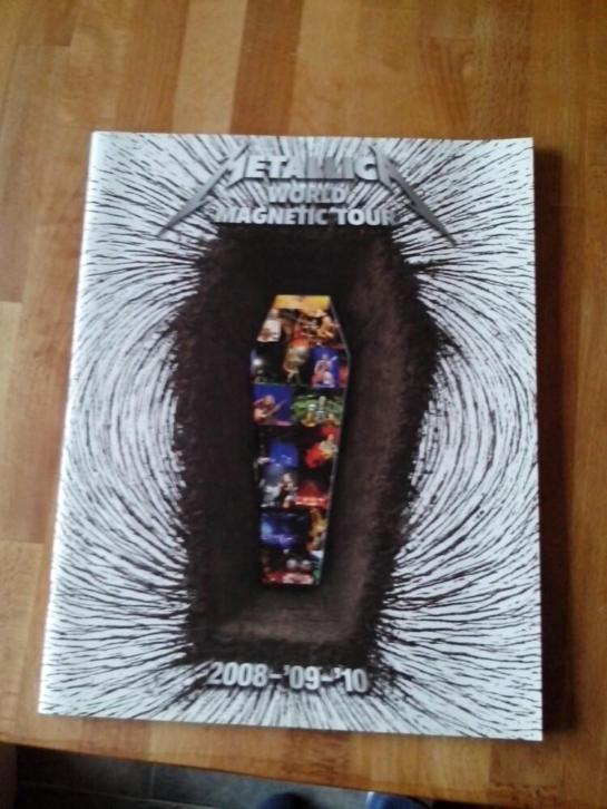 Metallica - Death Magnetic 2008 tour boek