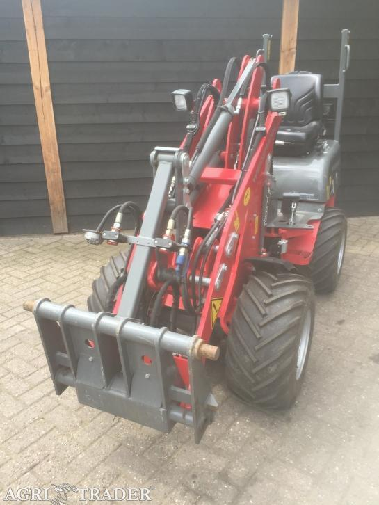 Mini shovel Weidemann 1140 CX (Bj 2014)