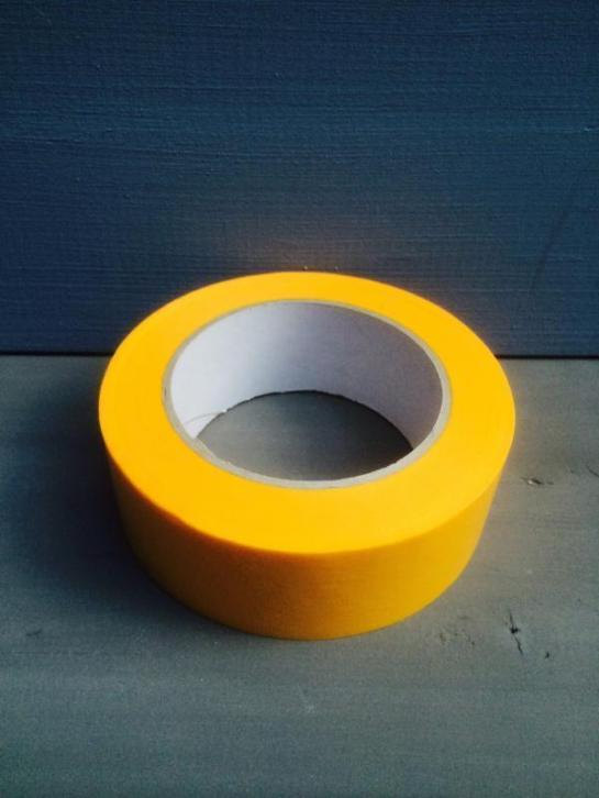 Tape Geel Breed 38mm - vanaf 4 euro p/s