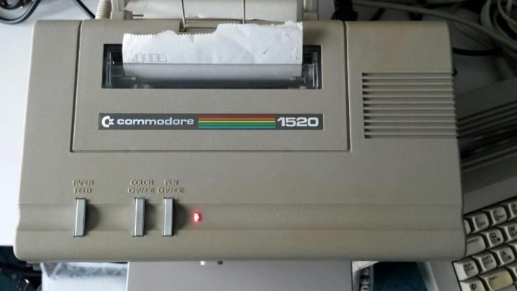 Commodore printer plotter 1520
