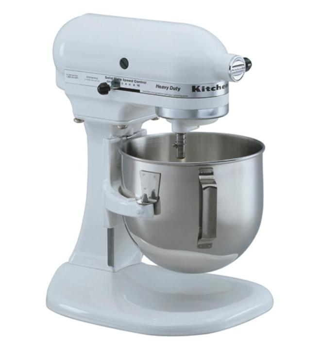 KitchenAid Heavy Duty Keukenmixer 4,8L (Wit)