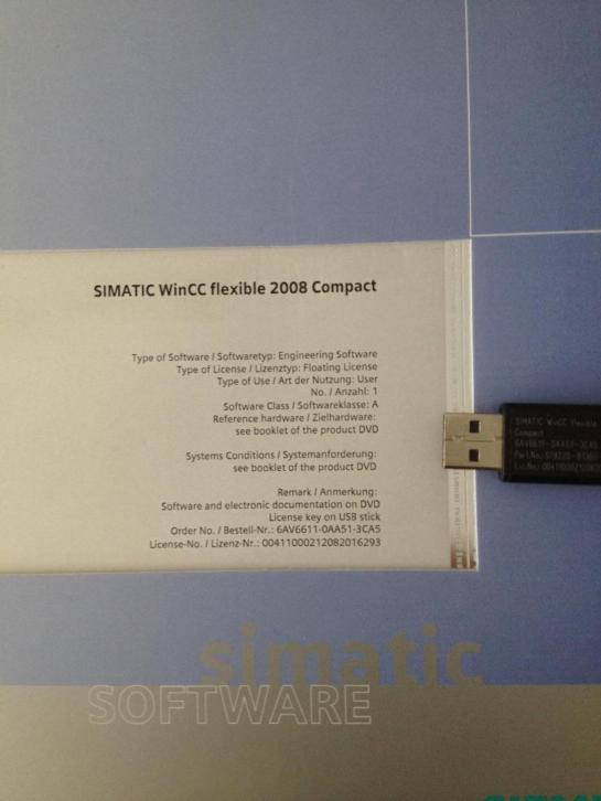 Siemens Simatic WinCC flexible plc software