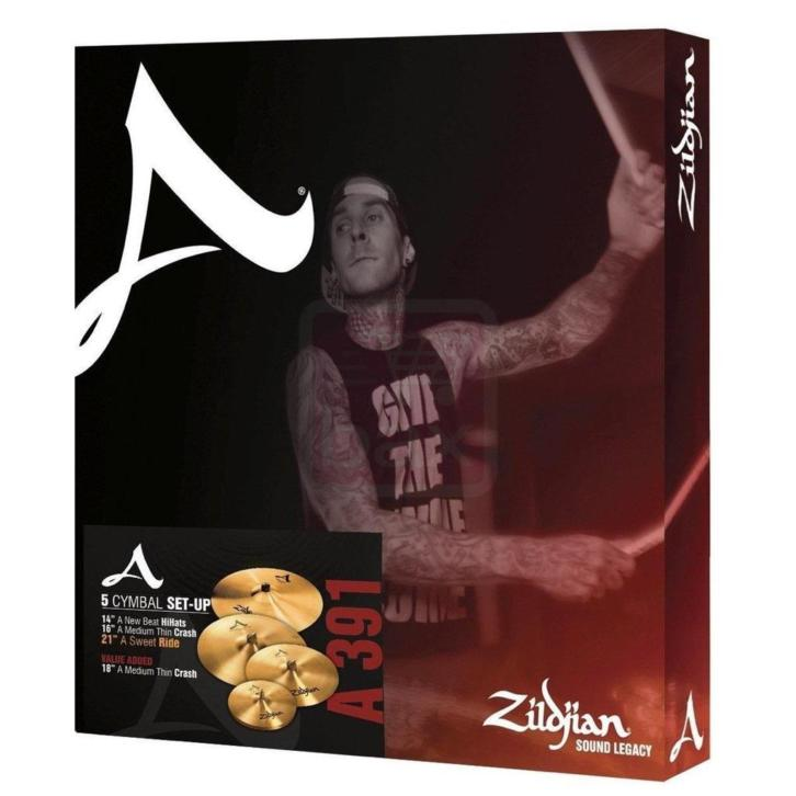 Zildjian A 391 Box Set bekkenset