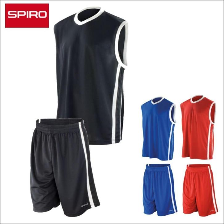 Spiro Basketbal Shirt of Short nu vanaf 14,99