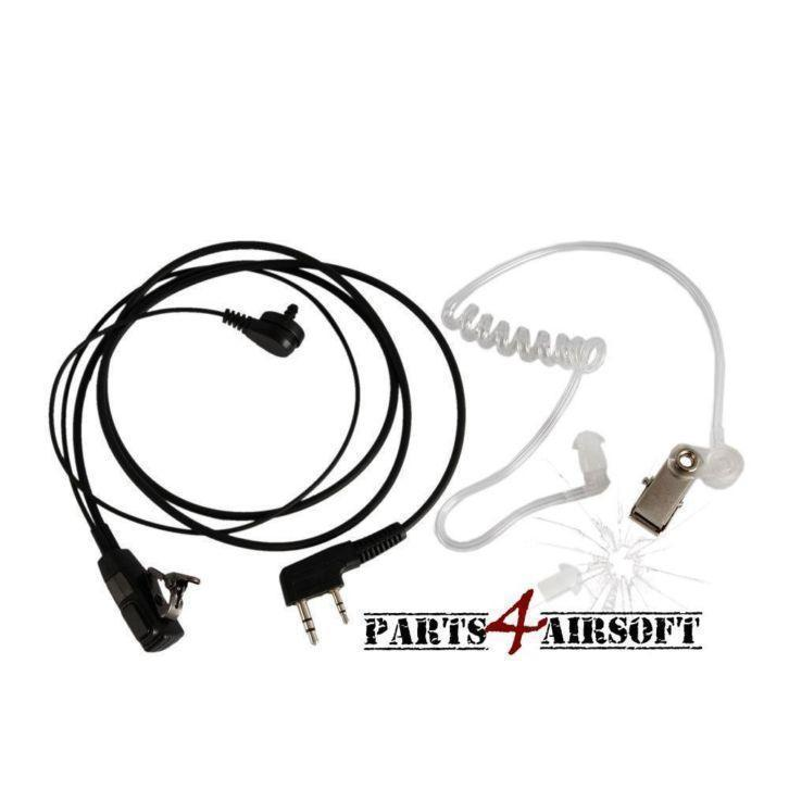 Earpiece & Throat microphone keelmicrofoon | Parts4Airsoft 4