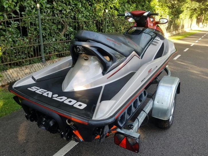 SEADOO RXT SUPERCHARGET 215pk 3 persoons