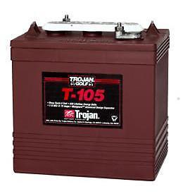 Advitek: Trojan T-105 €129 incl.BTW 6V 225Ah accu NL/BE