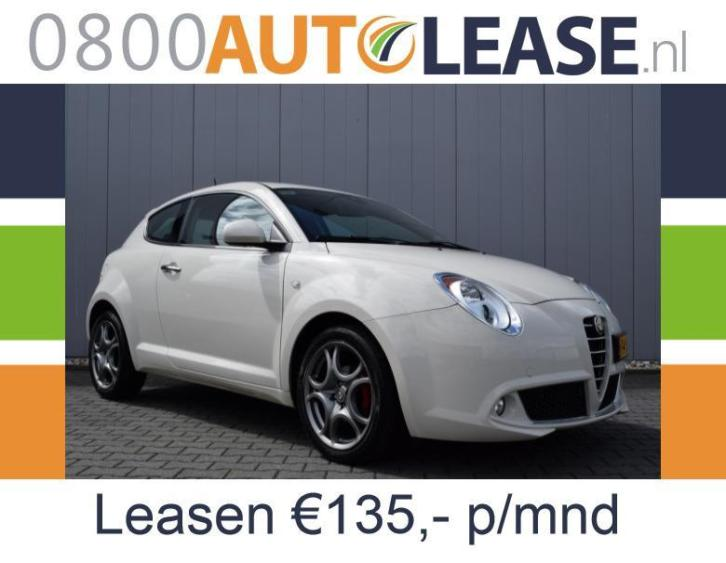 Alfa Romeo Mito 0.9 Turbo Twin AIR | Lease € 135,– per mnd