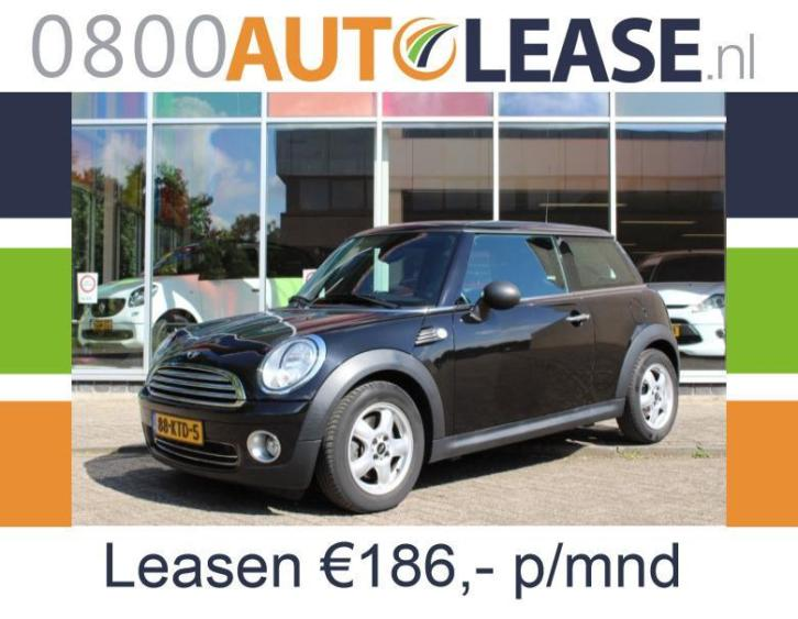 Mini Mini 1.4 16V ONE | Lease € 186,– per mnd