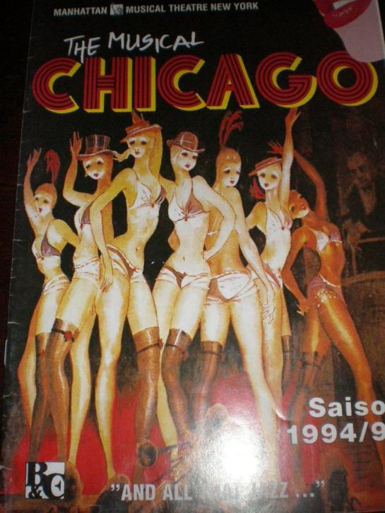 Programmablad Chicago,Duits