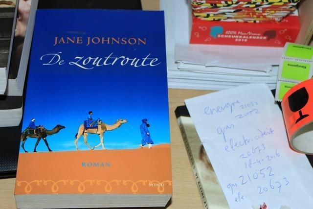 Jane Johnson...De zoutroute