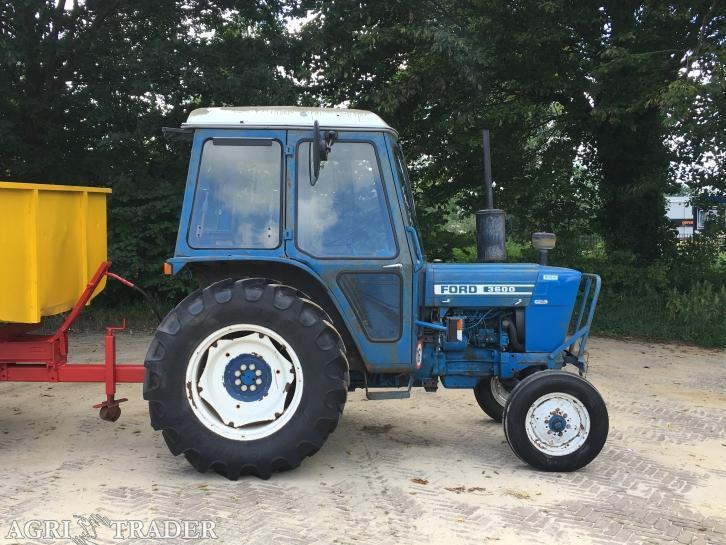 2WD tractor Ford 3600