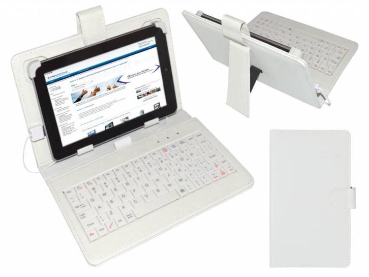Keyboard Case voor Yarvik Tab211 Tablet