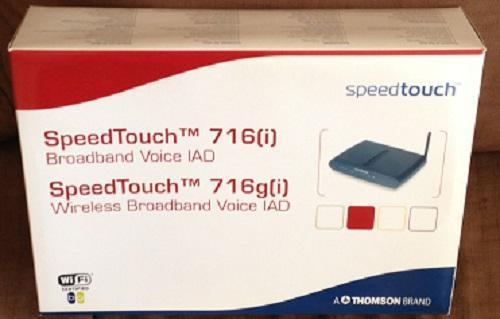 Th. SpeedTouch 716i v5 WL en TH. SpeedTouch 121g