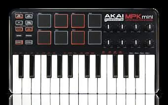 AKAI MPK mini laptop production keybord