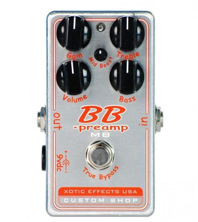 Xotic BB-MB preamp effectpedaal