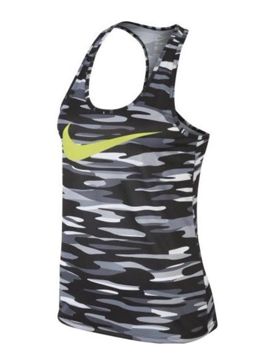 [TK] Nike sport top camouflage S/36