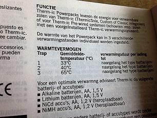 Therm IC basic powerpack t.w.v. € 65,--
