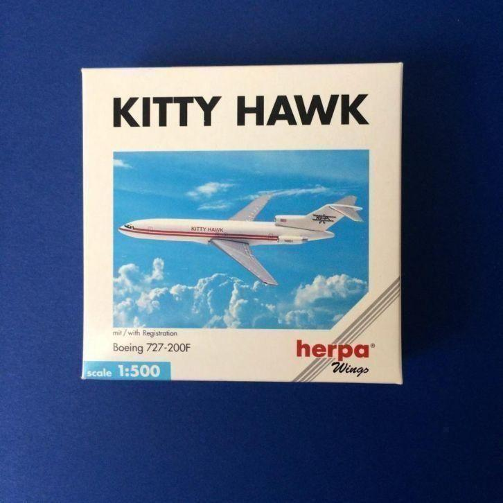 herpa wings 503105 Boeing 727-200F Kitty Hawk 1/500