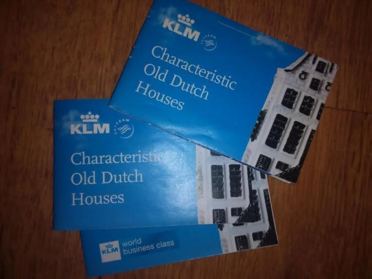 klm characteristic old dutch houses