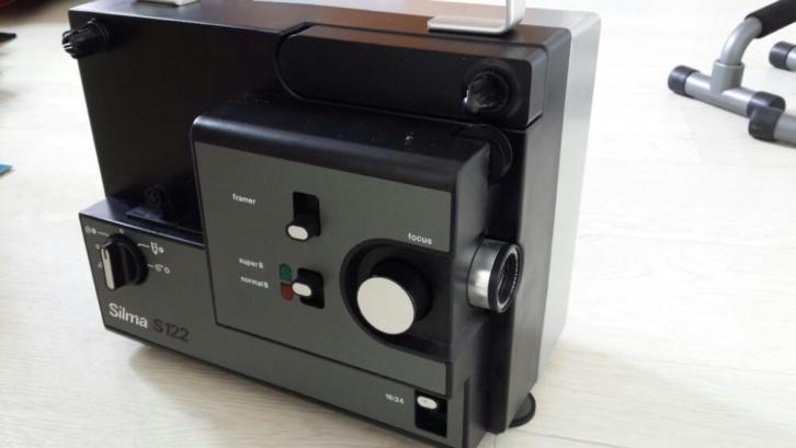 Silma S122 super 8mm filmprojector