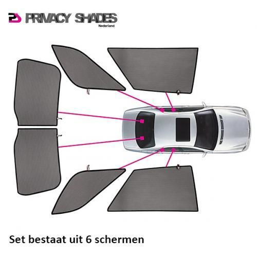 Privacy Shades Rover 25 5 deurs 1999-2005 autozonwering