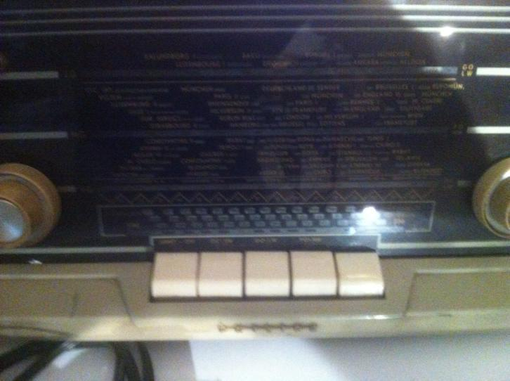 Oude Philips radio
