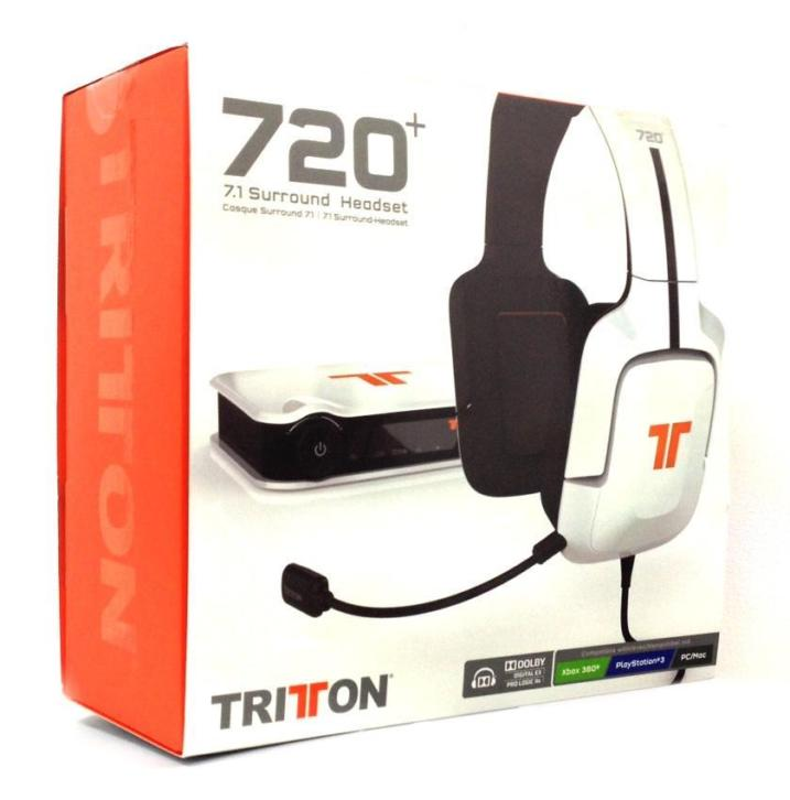 Tritton 720+ True 7.1 Surround Headset PS3 + Xbox 360 + PC