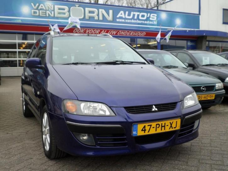 Mitsubishi Space Star 1.8 INSTYLE SILVER 1e eigenaar Airco L