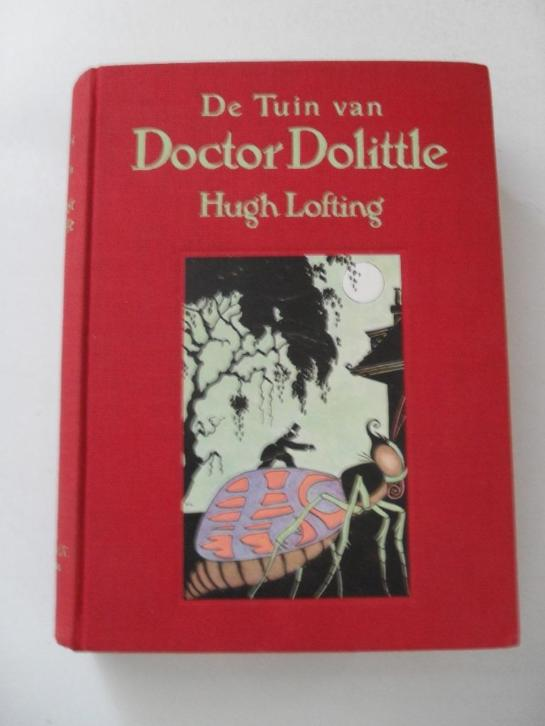 de tuin van doctor dolittle - hugh lofting
