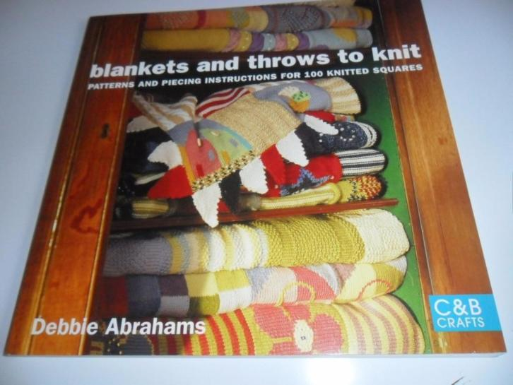 blankets and throws to knit - Debbe Abrahams
