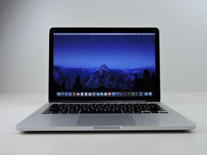 Macbook Pro 13 2,9 Ghz i7 8GB 512GB SSD|Retina|2013|Garantie
