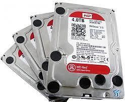 WD Red 4TB WD40EFRX (3,5'' / SATA III / I.Power / 64MB