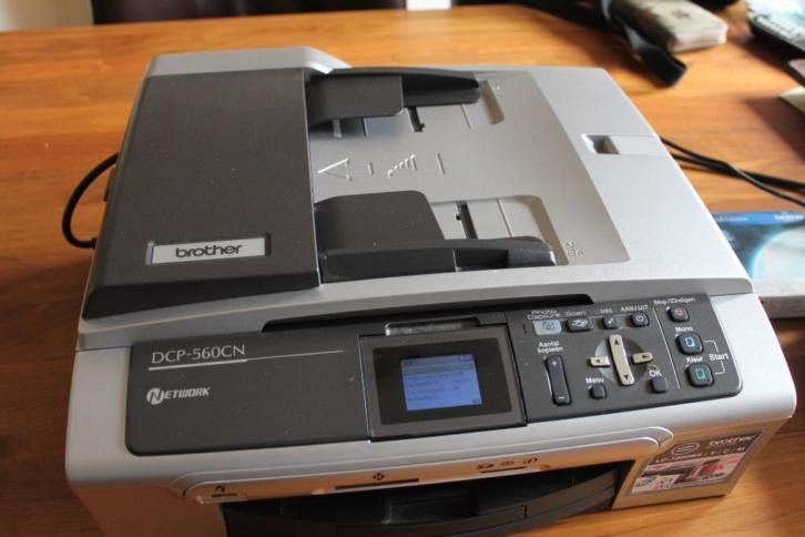 Brother DCP-560 CN All-in-one printer incl.cartridges