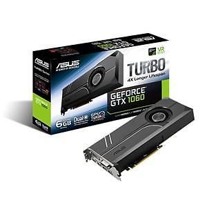 ASUS TURBO-GTX1060-6G NVIDIA GeForce GTX 1070 6GB
