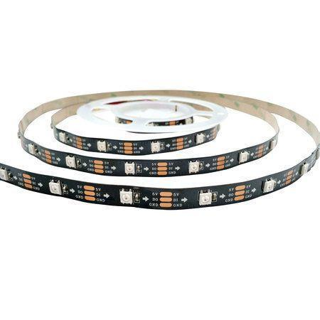Digitale WS2812b ledstrips - RGB led strip - 30 of 60 leds