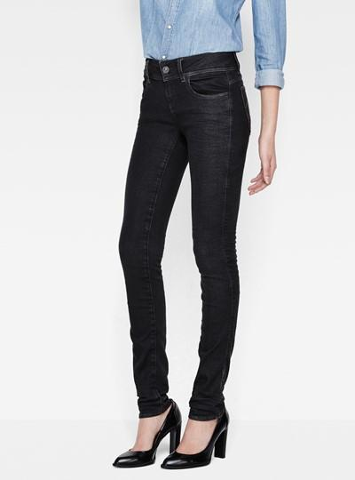 G-Star Color Jeans - Lynn Mid Skinny Colour Jeans -50 %