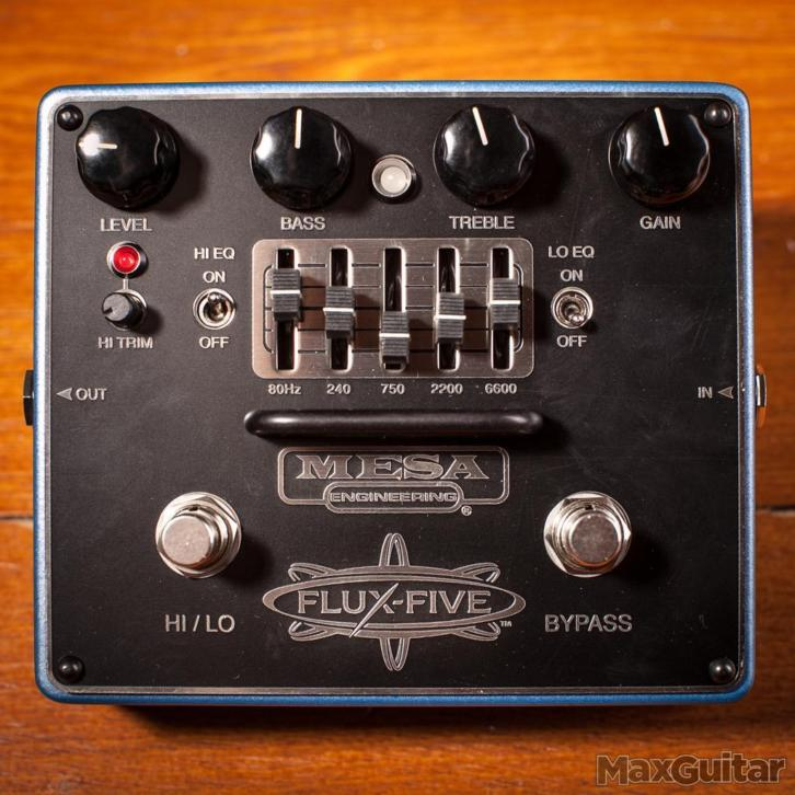 Mesa Boogie Flux Five overdrive/eq