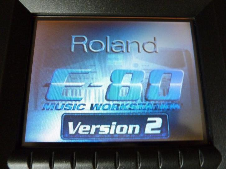Roland E 80 Music Workstation versie 2