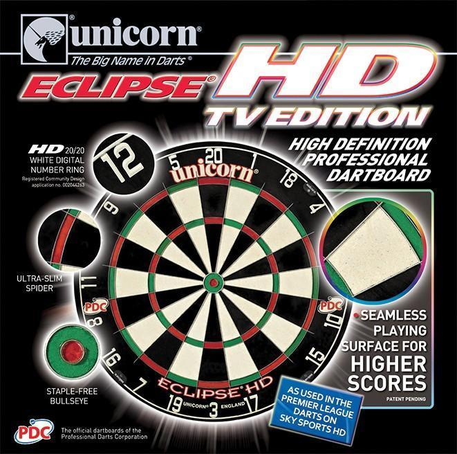 Unicorn Eclipse HD Dartbord