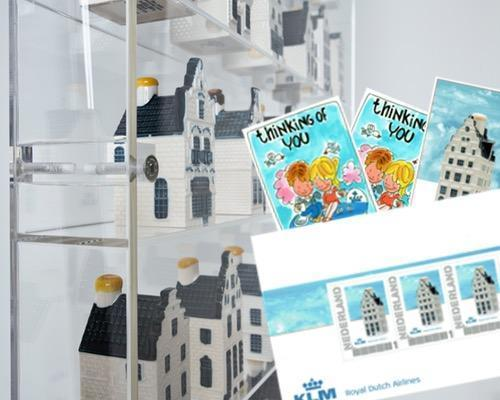 KLM huisjes display